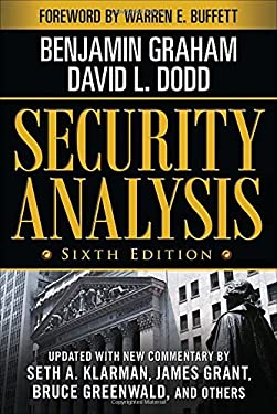 Security Analysis: Sixth Edition, Foreword by Warren Buffett 9780071592536