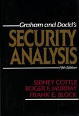 Security Analysis: Fifth Edition 9780070132351