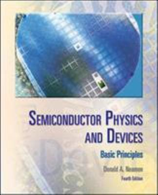 Semiconductor Physics and Devices: Basic Principles 9780073529585