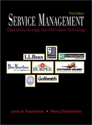 Service Management: Operations, Strategy, and Information Technology with Student CD-ROM Mandatory Package 9780072424195