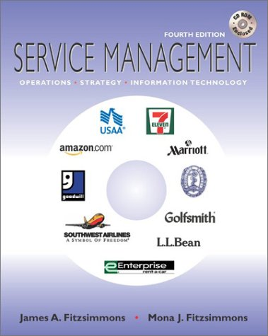 Service Management W/ Student CD-ROM 9780072868203