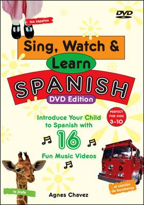 Sing, Watch & Learn Spanish 9780071480932