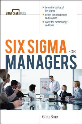 Six SIGMA for Managers 9780071387552