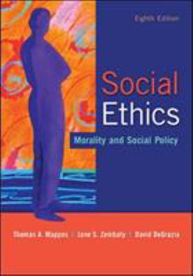 Social Ethics: Morality and Social Policy 9780073535883