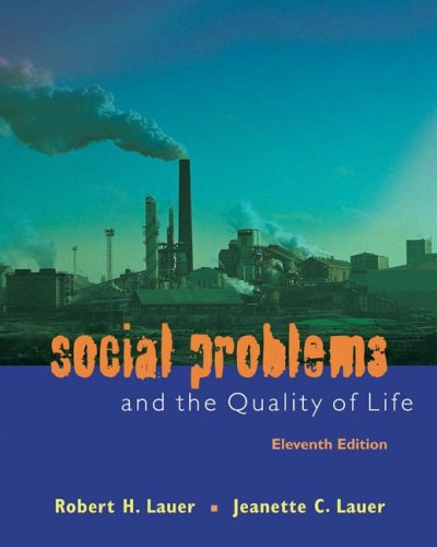 Social Problems and the Quality of Life Social Problems and the Quality of Life 9780073380124