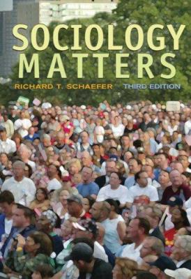 Sociology Matters 9780073528113