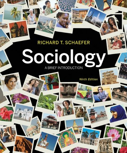 Sociology: A Brief Introduction 9780073528267