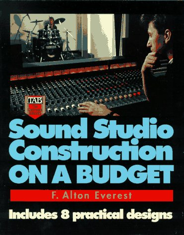 Sound Studio Construction on a Budget 9780070213821