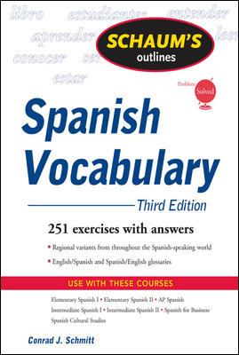 Spanish Vocabulary 9780071543910