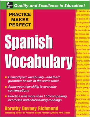 Spanish Vocabulary 9780071458061
