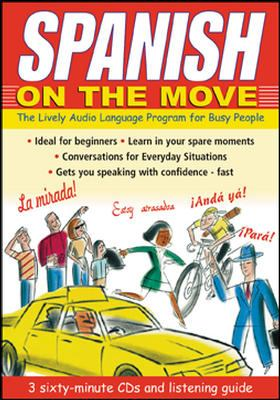 Spanish on the Move (3cds + Guide) [With Book] 9780071413404