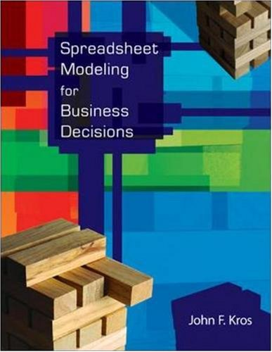 Spreadsheet Modeling for Business Decisions [With CDROM] 9780073317922