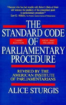 Standard Code of Parliamentary Procedure
