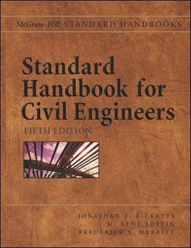 Standard Handbook for Civil Engineers 9780071364737