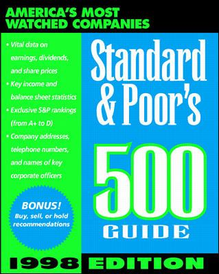 Standard & Poor's 500 Guide 1998 Edition 9780070526150