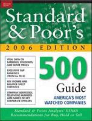 Standard & Poor's 500 Guide 9780071468237