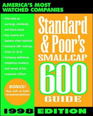 Standard & Poor's SmallCap 600 Guide 1998 9780070526136
