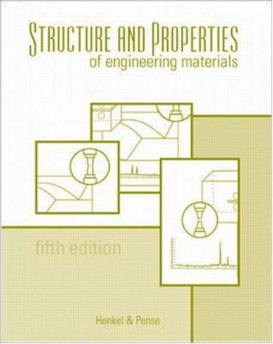 Structures and Properties of Engineering Materials 9780072350722