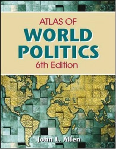 Student Atlas of World Politics 9780072873030