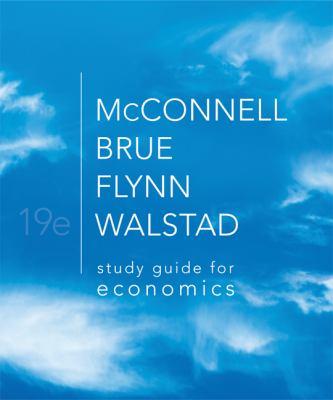 Study Guide for Economics 9780077337926