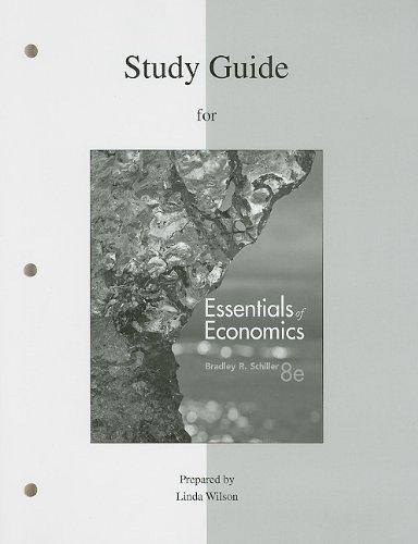 Study Guide for Essentials of Economics 9780077317089
