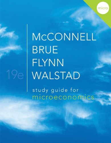 Study Guide for Microeconomics 9780077338008