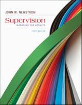Supervision: Managing for Results 9780078023170