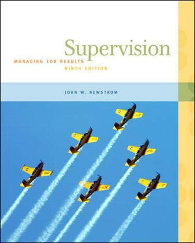 Supervision: Managing for Results 9780073545080