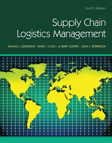 Supply Chain Logistics Management 9780078024054