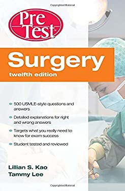 Surgery: PreTest Self-Assessment and Review 9780071598637