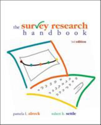 Survey Research Handbook (Paperback) 9780072945485