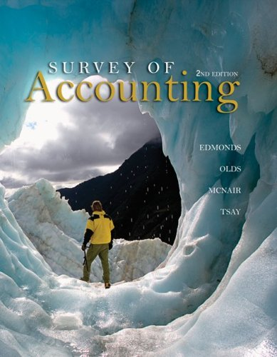 Survey of Accounting 9780073379555
