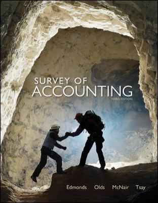 Survey of Accounting 9780077490836