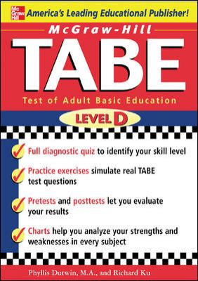 TABE Level D: Test of Adult Basic Education: The First Step to Lifelong Success 9780071446891