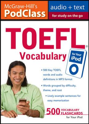 TOEFL Vocabulary for Your iPod [With 16-Page Booklet]