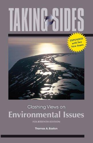 Taking Sides: Clashing Views on Environmental Issues 9780073514482