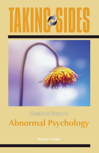 Taking Sides: Clashing Views in Abnormal Psychology 9780078050169