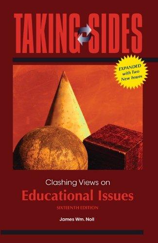 Clashing Views on Educational Issues