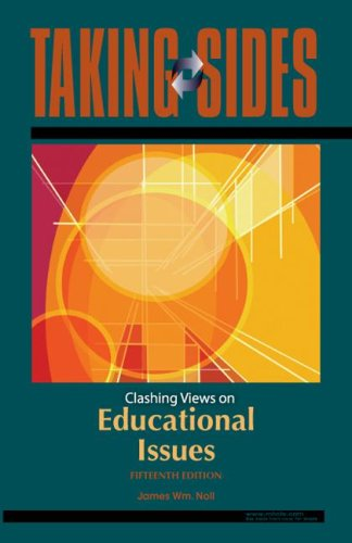 Taking Sides: Clashing Views on Educational Issues 9780073515205