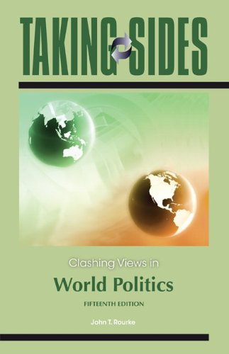 Clashing Views in World Politics 9780078050107