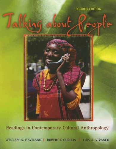 Talking about People: Readings in Contemporary Cultural Anthropology 9780072994810