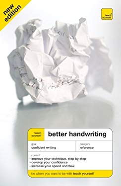 Teach Yourself: Better Handwriting 9780071636384