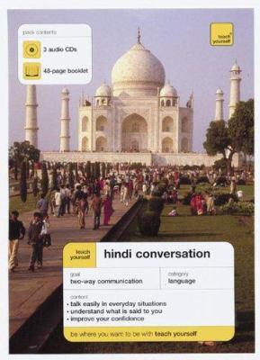 Teach Yourself Hindi Conversation (3cds + Guide) 9780071456555