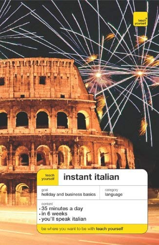 Teach Yourself Instant Italian (Book Only) 9780071474252