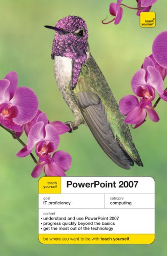 Teach Yourself PowerPoint 2007 9780071497114