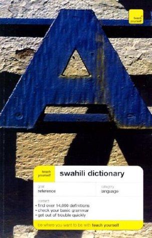Teach Yourself Swahili Dictionary 9780071421379