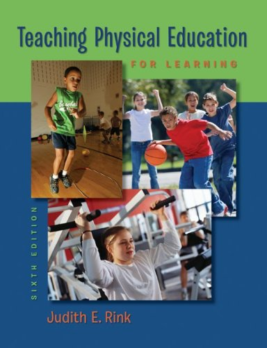 Teaching Physical Education for Learning 9780073376523