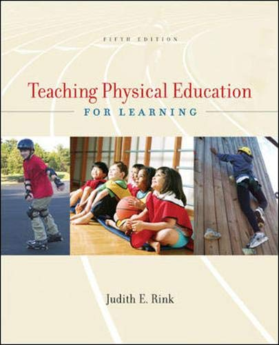 Teaching Physical Education for Learning 9780072973044