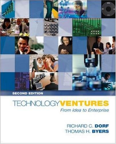 Technology Ventures: From Idea to Enterprise [With Student DVD] 9780073294421