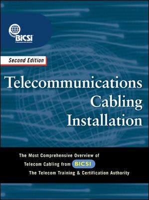 Telecommunications Cabling Installation 9780071409797